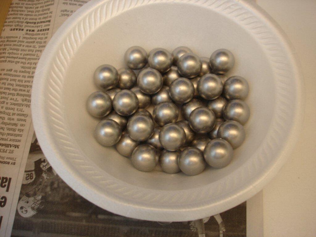 timer ball perle plade