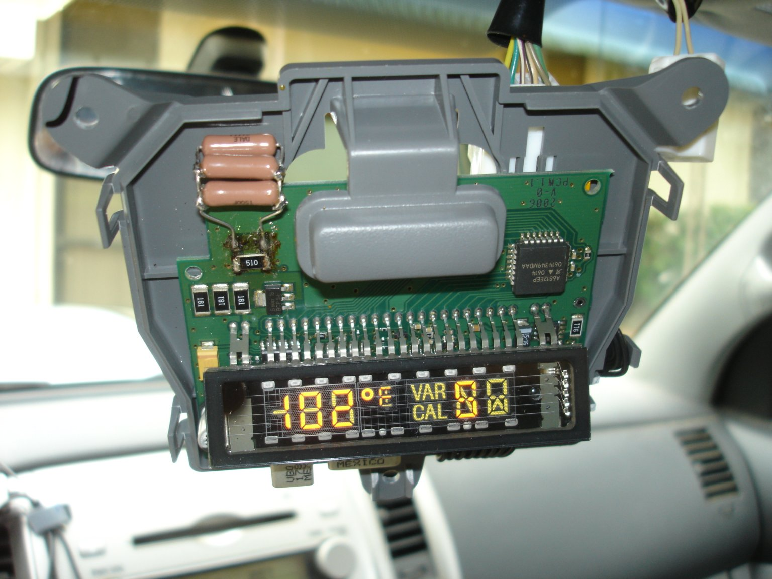 2006 Tacoma Overhead Console Wiring Diagram Schematic Diagrams How I Repaired My Toyota Temperature Compass Display
