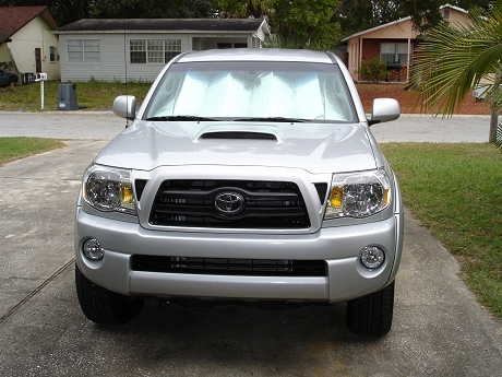 Front view of my new Toyota Tacoma 4X4 Pickup Truck