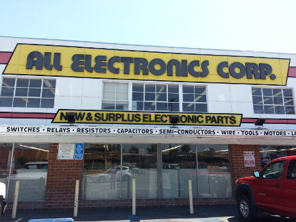 All Electronics in Van Nuys, CA.