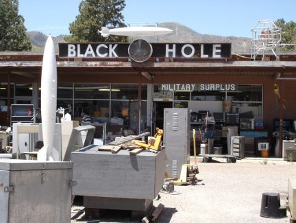 The Black Hole in Los Alamos.