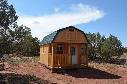 My cabin on my Arizona property