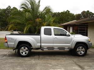 My new Toyota Tacoma 4X4 Pickup Truck