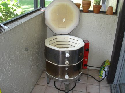 My new skut model 181 kiln.
