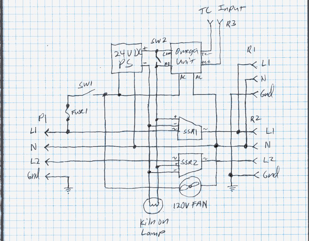 schematic my home made kiln controller paragon kiln wiring diagram at gsmx.co