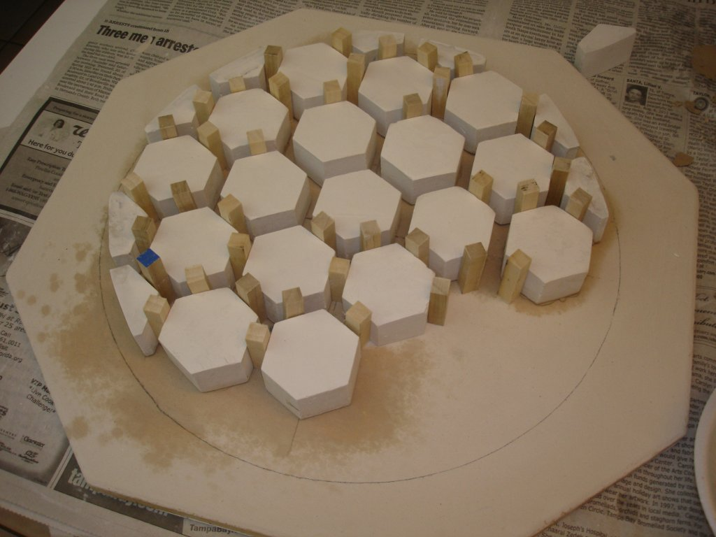 How I Make Light Weight Hexagon Or Honeycomb Telescope