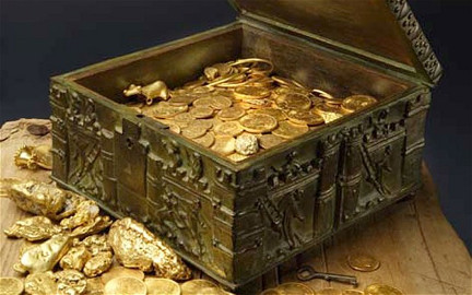 Forrest Fenn's treasure chest.