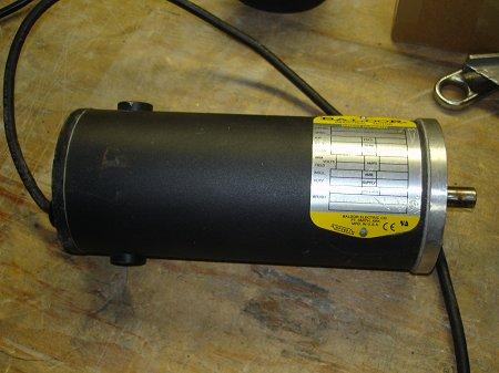 My improvised dc generator build for Surplus permanent magnet dc motors