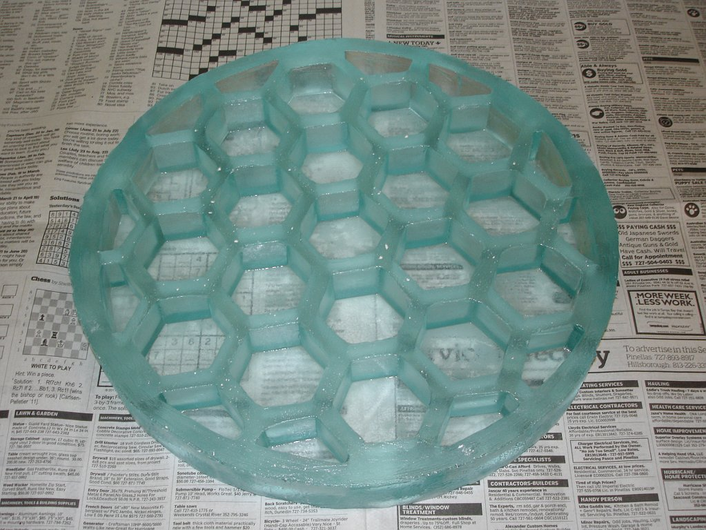How I Make Light Weight Hexagon Or Honeycomb Telescope