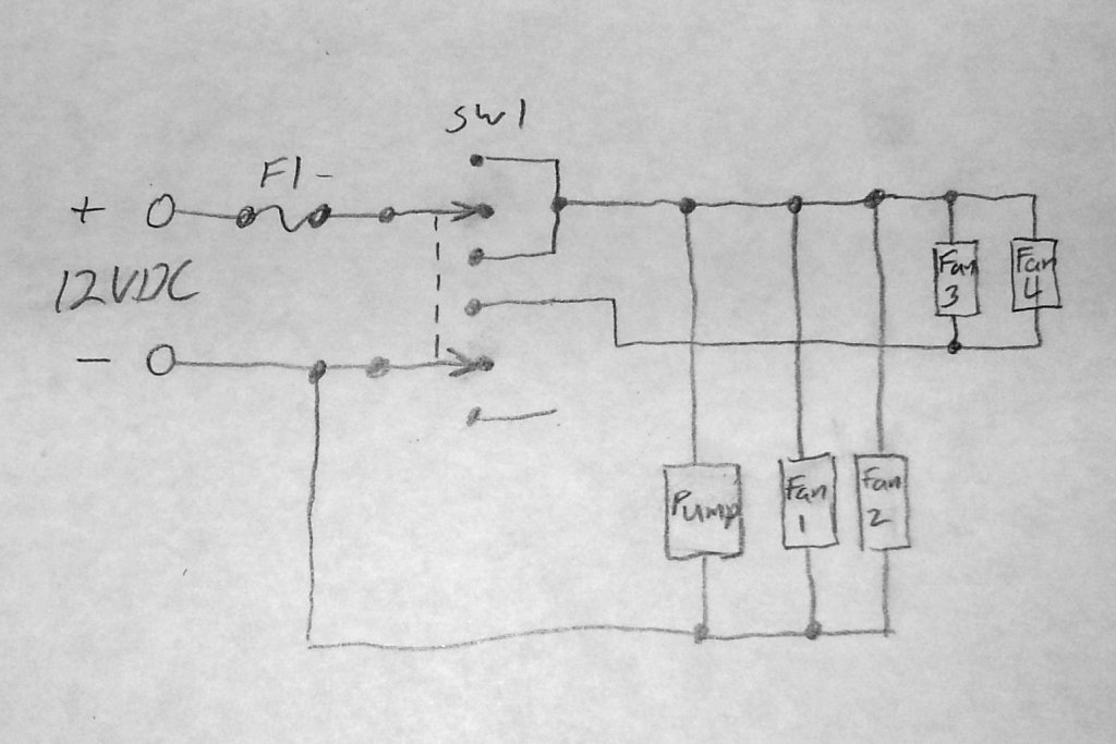 Wiring Diagram Swamp Cooler : How i built a home made swamp cooler for my remote off